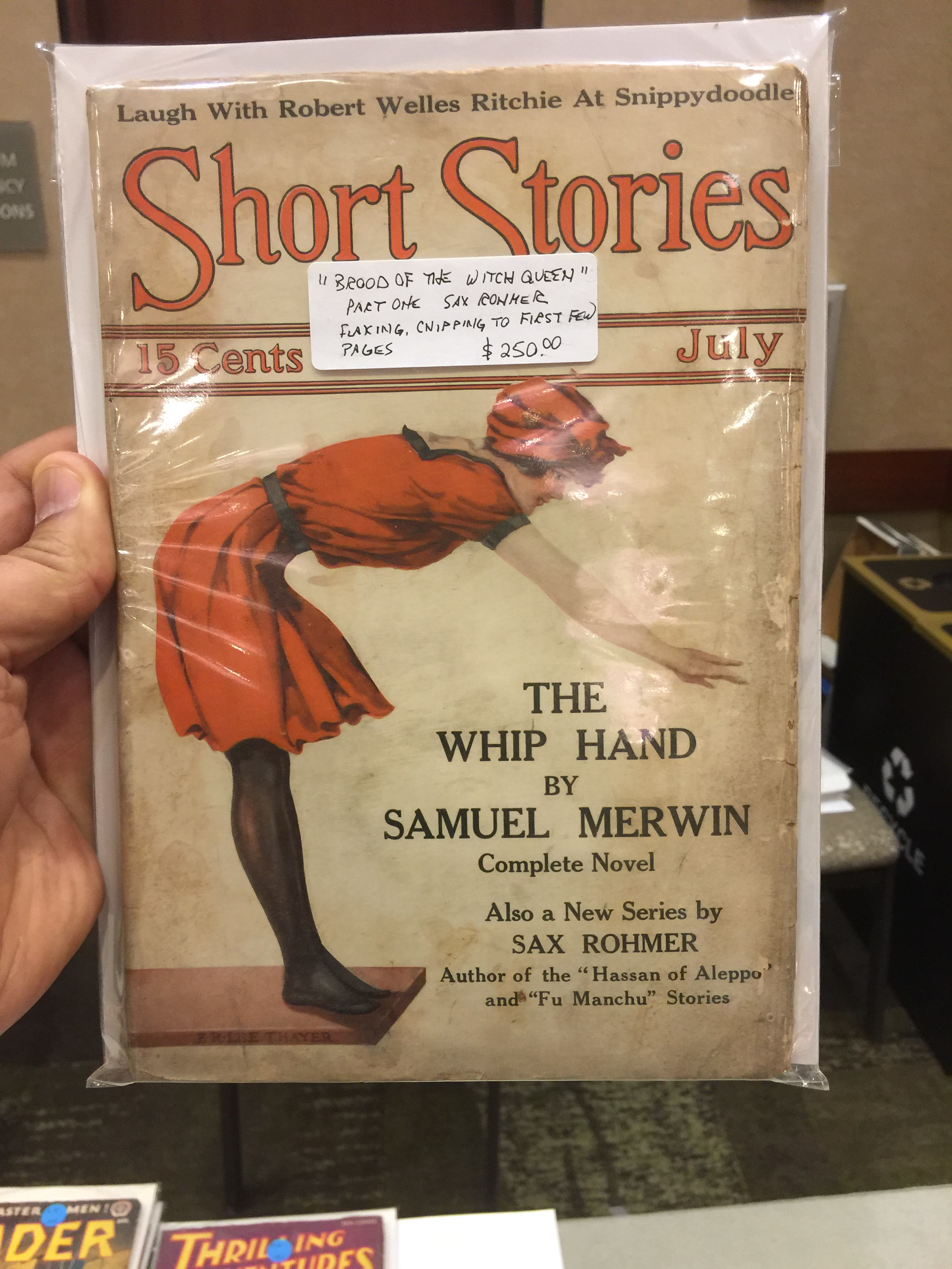 Short Stories 1914 July issue